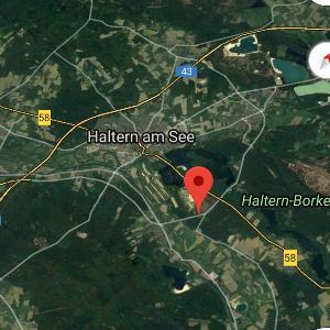 Parkplatz Westruper Heide