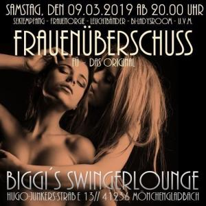 Original-Frauenüberschussparty